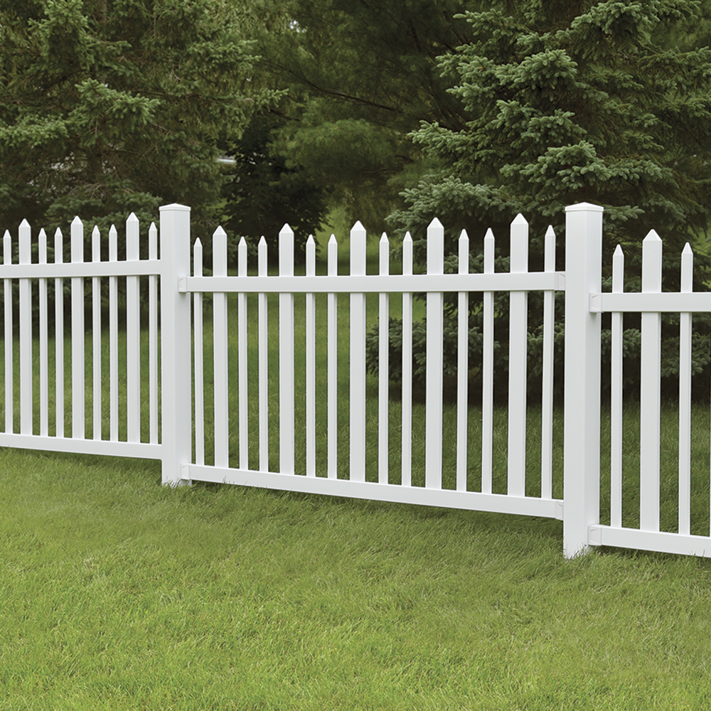 Ashford vinyl fence panel freedom