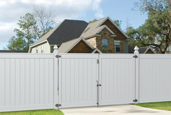 Emblem 6x8 Vinyl Privacy Fence Kit Vinyl Fence Freedom