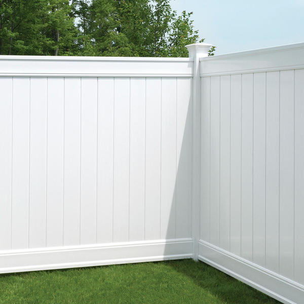 Emblem 6x8 Vinyl Privacy Fence Kit | Vinyl Fence | Freedom ...