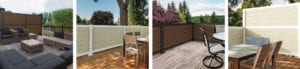 Mixed Material Deck railing ideas