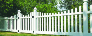Dog Fence Options - Lennox Vinyl