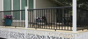 Mix and Match Railing - Vinyl and Aluminum