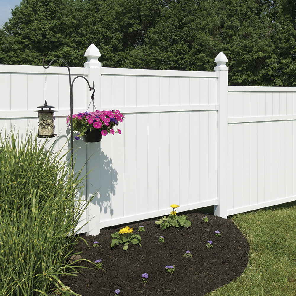 Brighton 6x6 Vinyl Privacy Fence Panel