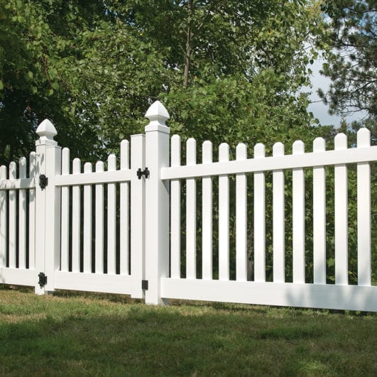 Image result for vinyl fence