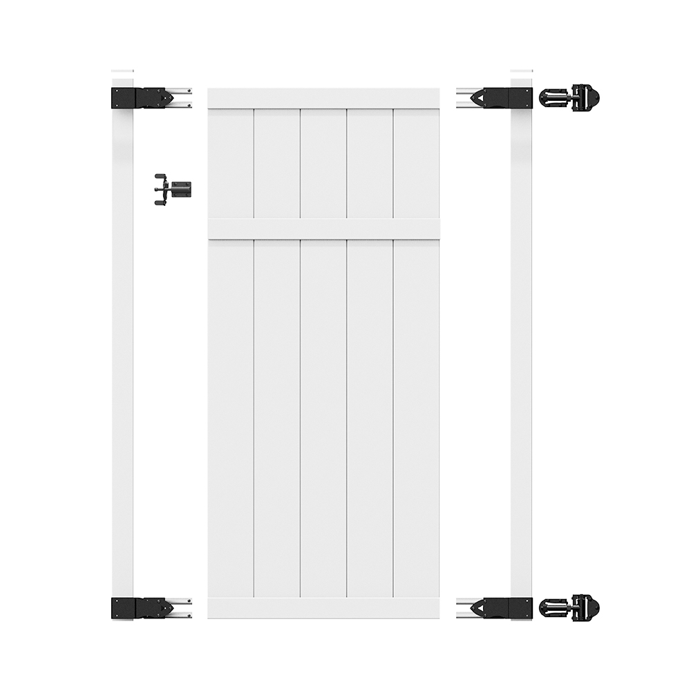 Gate Framing Kit - (hinges and latch included) - Freedom