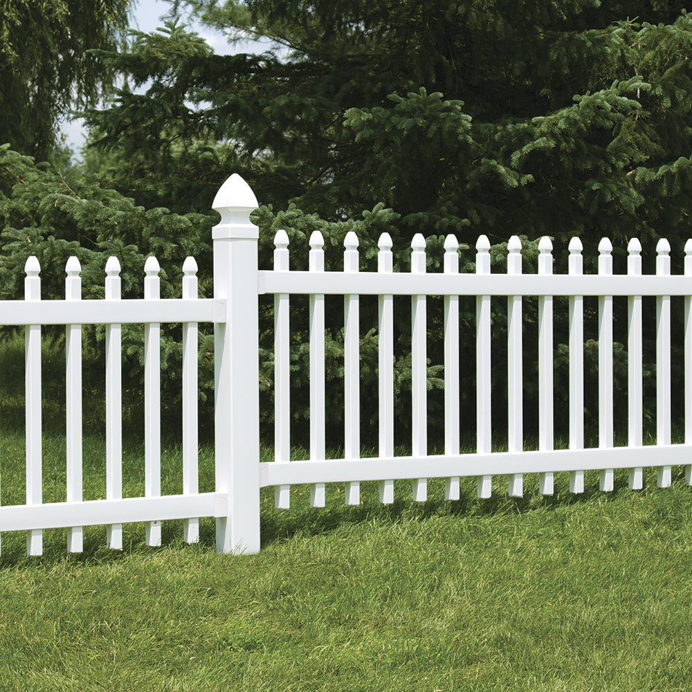3x8 Newport Vinyl Fence Panel | Vinyl Fence | Freedom ... on Lowes Outdoor Living id=19419