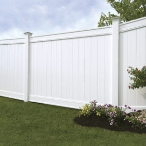 Hampton 6x6 Vinyl Privacy Fence Kit Vinyl Fence
