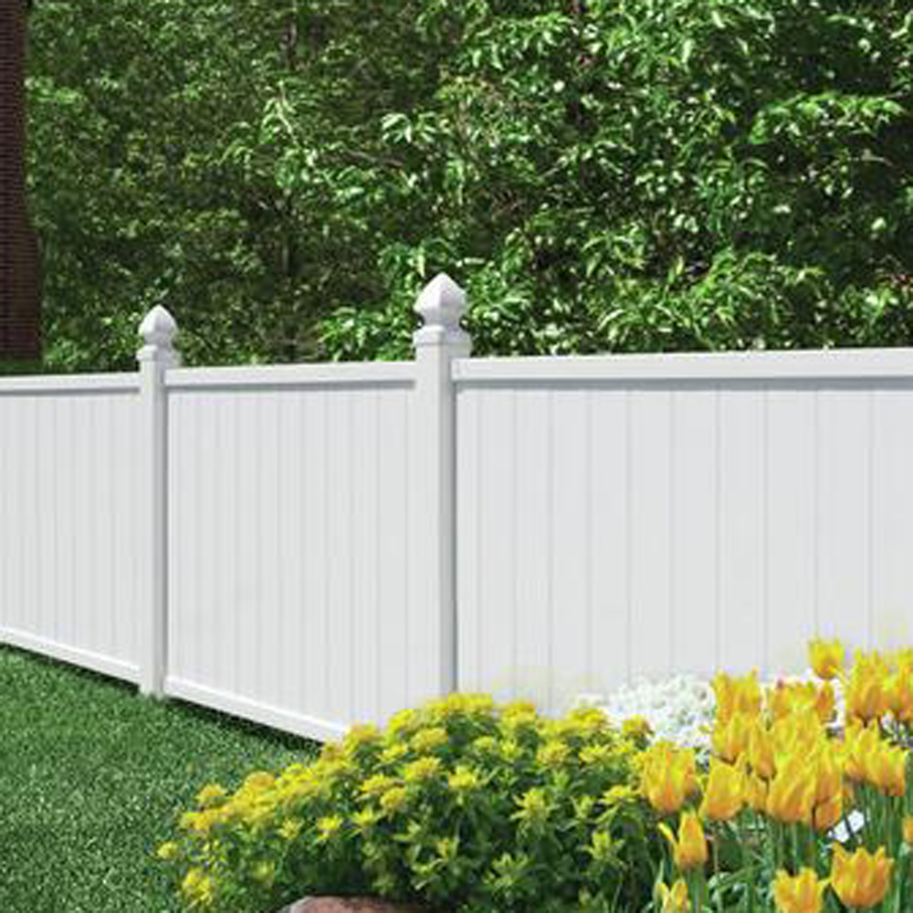 Crosston 4x6 Vinyl Fence Panel Vinyl Fence Freedom