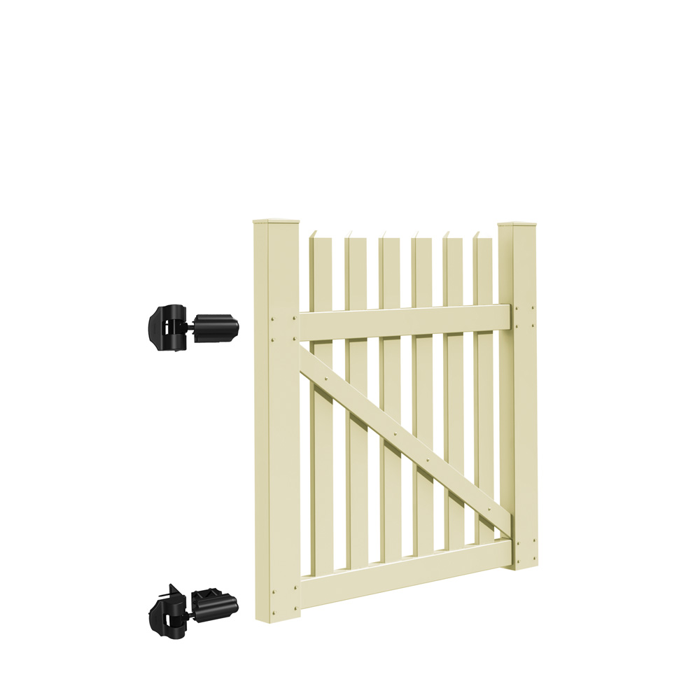 Coventry Straight 4 Gate Kit Hinges Included Freedom