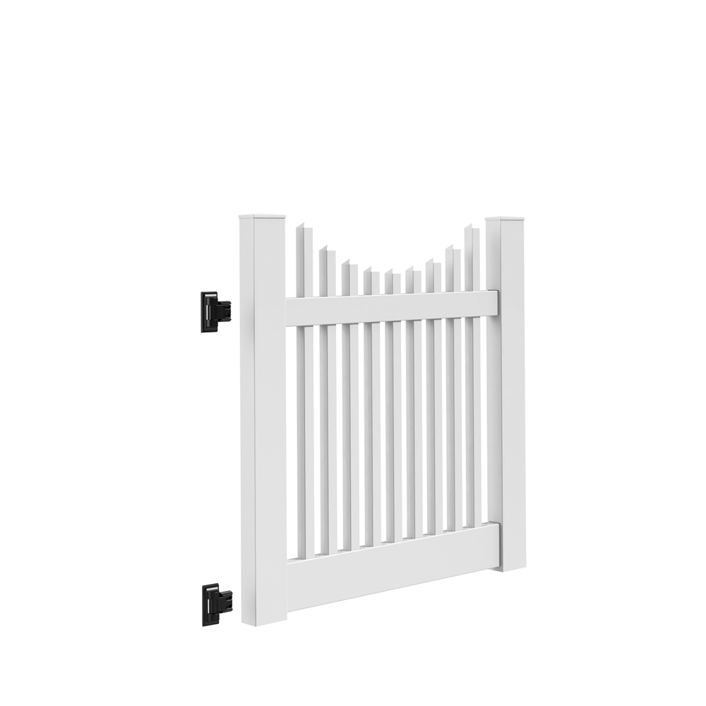 Keswick Scallop 4 Gate Kit Hinges Included Freedom