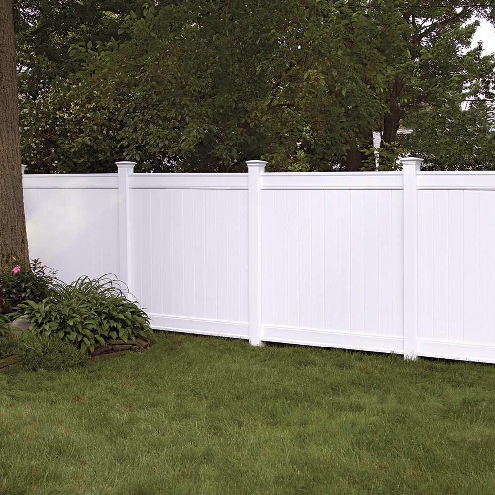 Everton 6x6 Vinyl Privacy Fence Kit Vinyl Fence