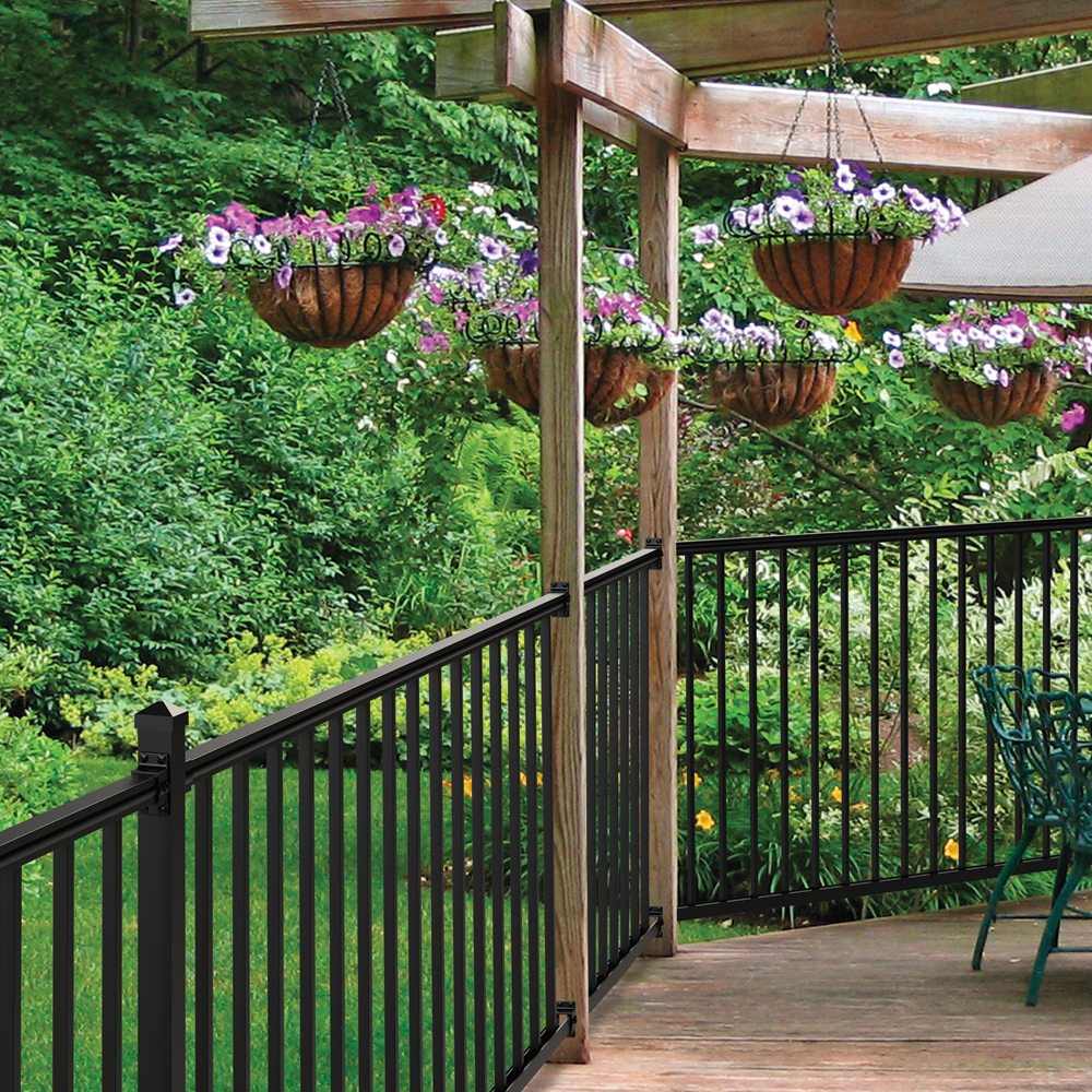 Aluminum Rail, Fence Railing, Rail Accessories | Freedom ... on Lowes Outdoor Living id=23721