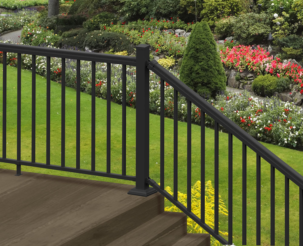 Aluminum Rail, Fence Railing, Rail Accessories | Freedom ... on Lowes Outdoor Living id=70549
