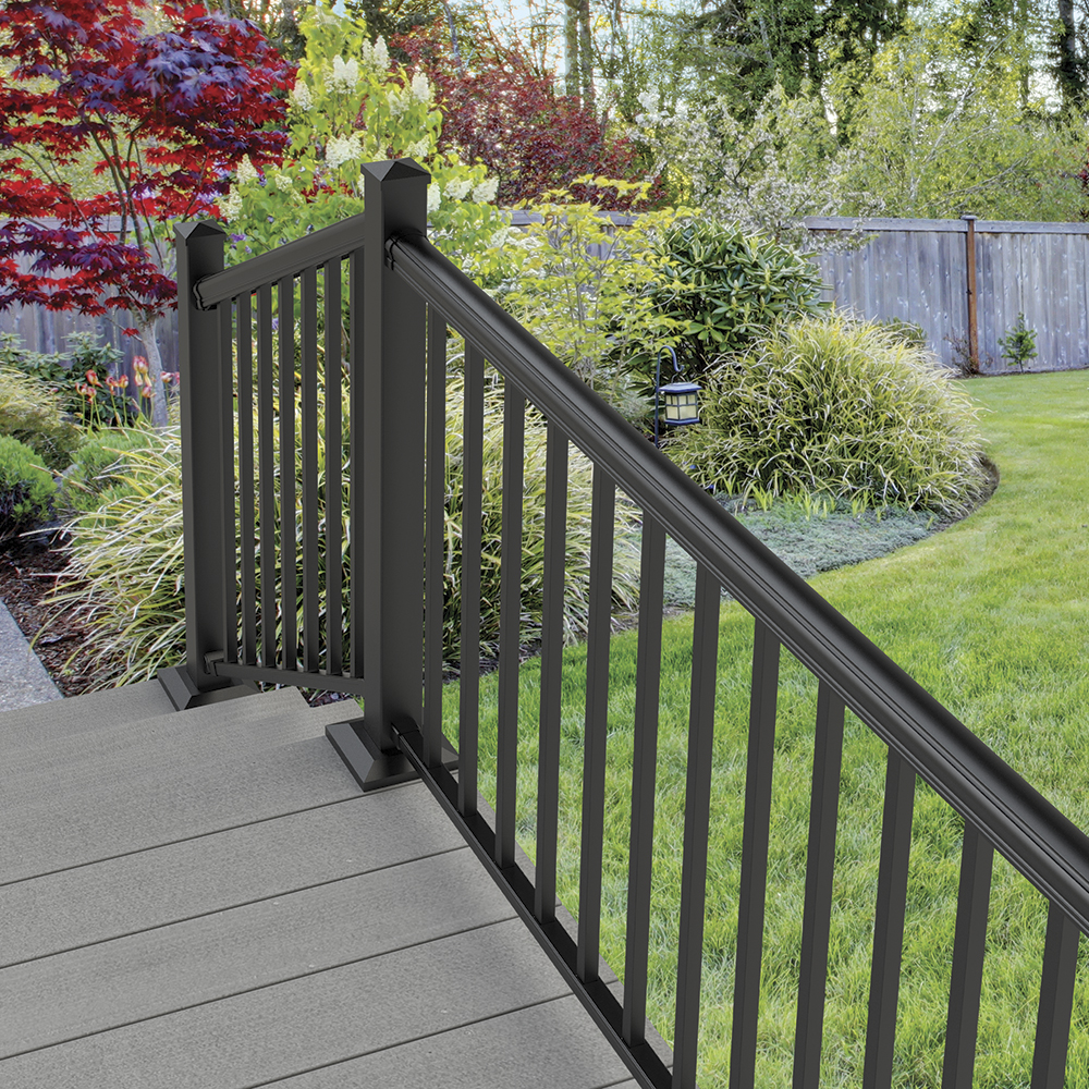 Aluminum Rail, Fence Railing, Rail Accessories | Freedom ... on Lowes Outdoor Living id=35335