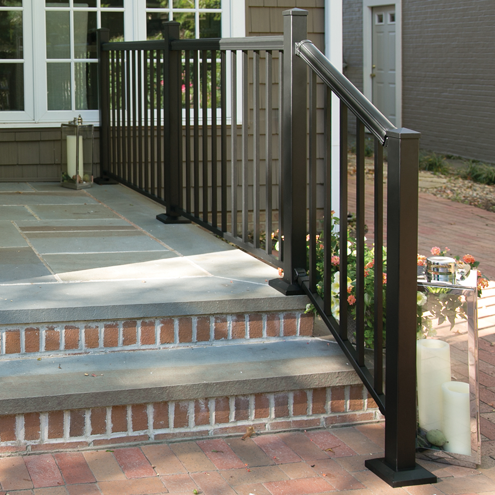 Cambridge Mix N Match Ready To Assemble Aluminum Stair