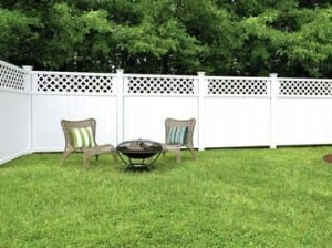 Freedom Fence Lowes >> Vinyl Fence Vinyl Fencing Styles Freedom Outdoor Living For Lowes