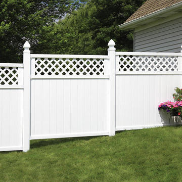 Stepped Fence Installation Vs Racked Fence Installation