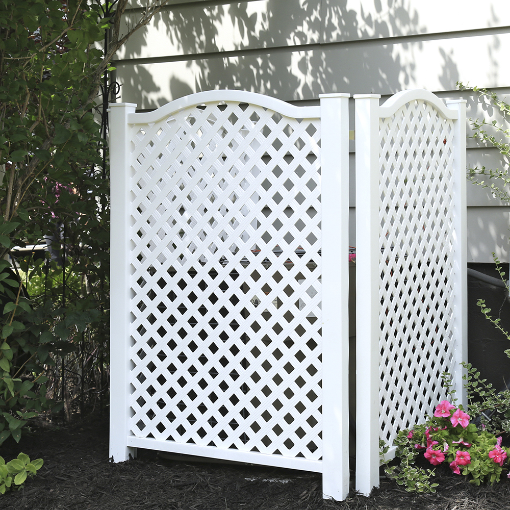 Connections Decorative Vinyl Panels | Yard Accents ... on Lowes Outdoor Living id=59843