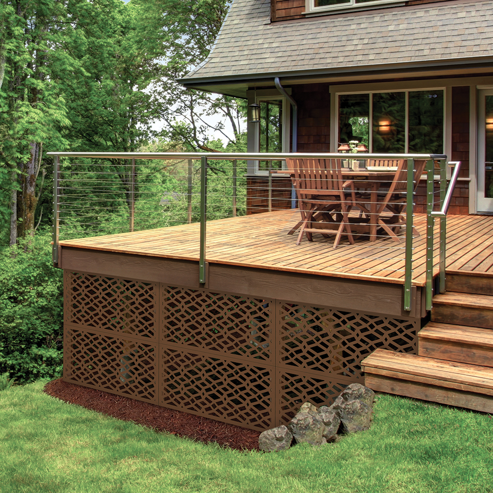 Allure Decorative Sheeting | Deck Skirting | Freedom ... on Lowes Outdoor Living id=50881