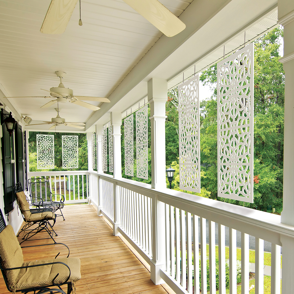 Allure Decorative Sheeting Deck Skirting Freedom