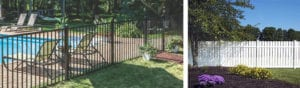 Fence Planning Ideas - image of a pool and yard
